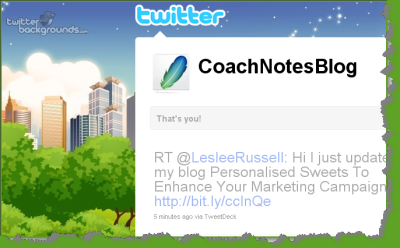 CoachNotesBlog Official Twitter Account Profile